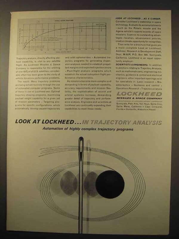 1963 Lockheed Missiles & Space Company Ad - Analysis