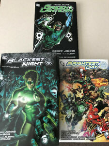 GREEN LANTERN GRAPHIC NOVELS $5-15; Hardcover & Softcover