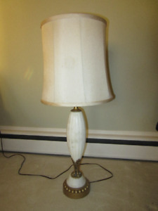 Antique Marble Table Lamp Only $20