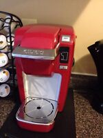 Red Keurig Mini Plus