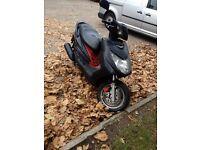 Yamaha Cygnus nxc 125cc not Honda gillera r125 scooter moped ped