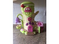 VARIOUS HAPPYLAND FAIRY BOOT TOADSTOOL, SWING, FAIRIES, STORAGE BOX