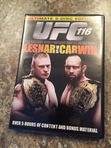 UFC 116 Lesnar vs Carwin DVD (2 Disc)