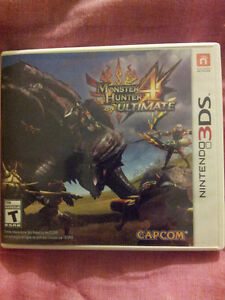 Monster Hunter 4:Ultimate  excellente condition