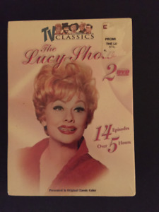 THE LUCY SHOW - TV Classics 14 episodes DVD