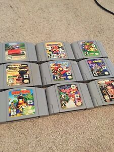 N64 games for sale - Mario Party 3, Super Mario 64