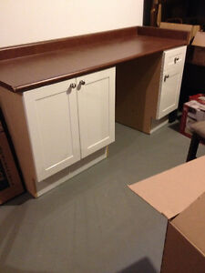 Bathroom cabinets and counter top