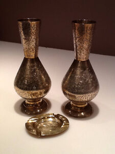 Indian Brass Vases