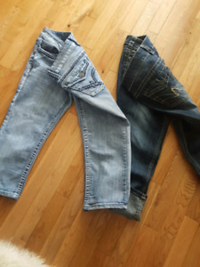 Ladies Warehouse One jeans both pairs size 10 $15 For both pairs