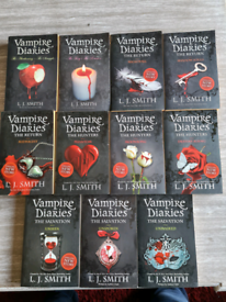L J Smiths Vampire Diaries saga