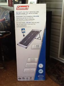 Solar Panel Kit 40 Watt, 12 Volt Crystalline