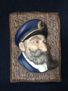 Decorative Sea Captain Nautical Wall Hang