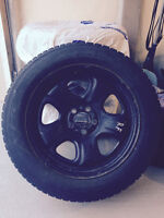 18 inch Mopar rims with almost new tires