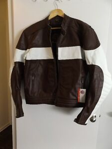 NEW - High Performance Motorcycle Classic Harley Leather Jacket.