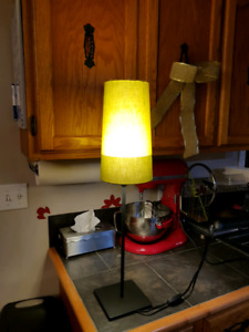Olive Green accent lamp fro IKEA
