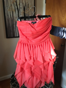 Small coral dress