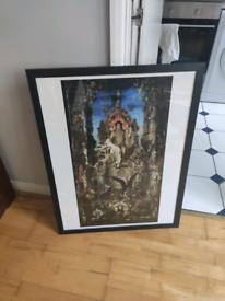 Black wooden frame 60x80cm - 23x31in NEW PRICE