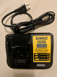 DeWalt DCB112 12V/20V Battery Charger