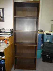 Bookcase, table and micro wave stand Cambridge Kitchener Area image 1