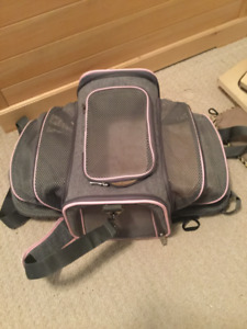 Cat travel case and 2 Cat beds