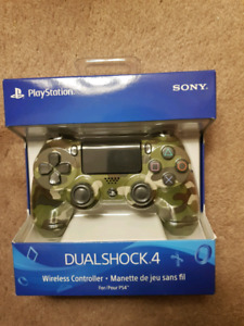 Ps4 controller brand new sealed camouflage