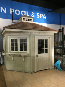 Cabana 8 x 8 - Awesome Deal - Showroom Display Never Outside-