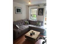 Harvey's Qube corner chaise sofa. Must go now!