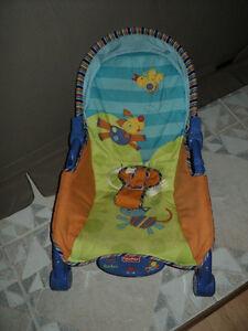 chaise vibrante pour bébé 20$ pas négo