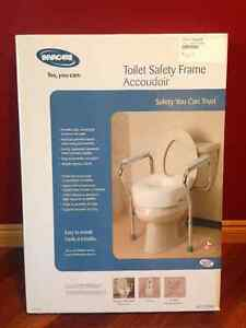Safety Handrails for Toilet Assistance
