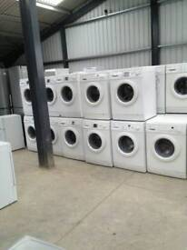 Washing machines on sale today starting prices £79.99 warranty included SALE ON TODAY