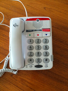 Hearing Impaired amplified phone