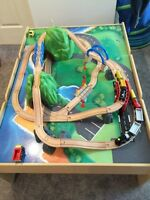 Imaginarium Mountain Rock train set and table