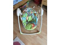 Bright Start Up Up and Away Baby Swing Seat