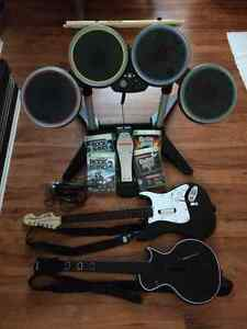 Xbox 360 Guitar Hero - Rock Band Bundle