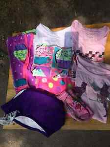 Lot of Girls' sized mostly 7/8 Clothing 6 pieces