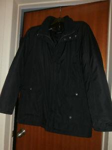 manteau homme marine