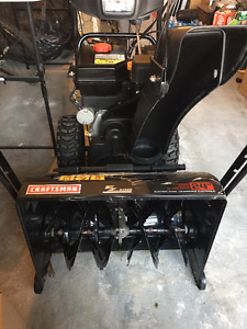 almost brand-new Snowblower