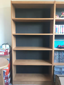 6ft Bookcase - Great Condition (2 available)