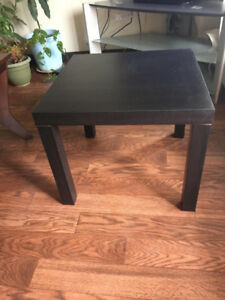BLACK COFFEE TABLE /   SIDE TABLE FOR SALE