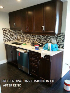 SUMMER IS HERE! RENOVATIONS HOUSES & FINISHED BASEMENT LOW COST Edmonton Edmonton Area image 1