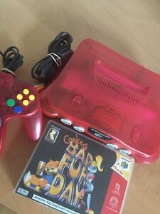 WATERMELON NINTENDO 64 + CONKERS BAD FUR DAY