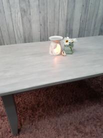 Coffee table - farmhouse style