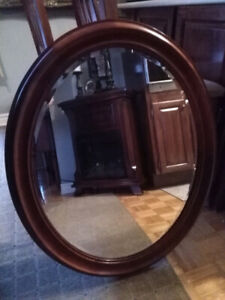 Oval Mirror by Bombay