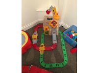 Little Tikes big adventures construction rail and road