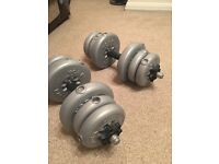 Barbell-dumbell set