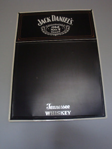 Tin Jack Daniel's Chalkboard Sign /Tin John Deere Roads Sign