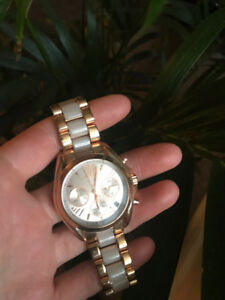 Hardly Worn Rose Gold Micheal Kors Watch