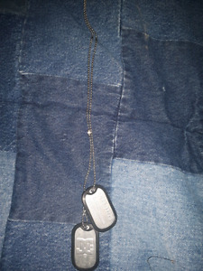 Mens DC dogtags