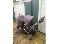 Double stroller in good condition