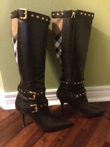Authentic Burberry Women's Boots-Fit 8.5-9